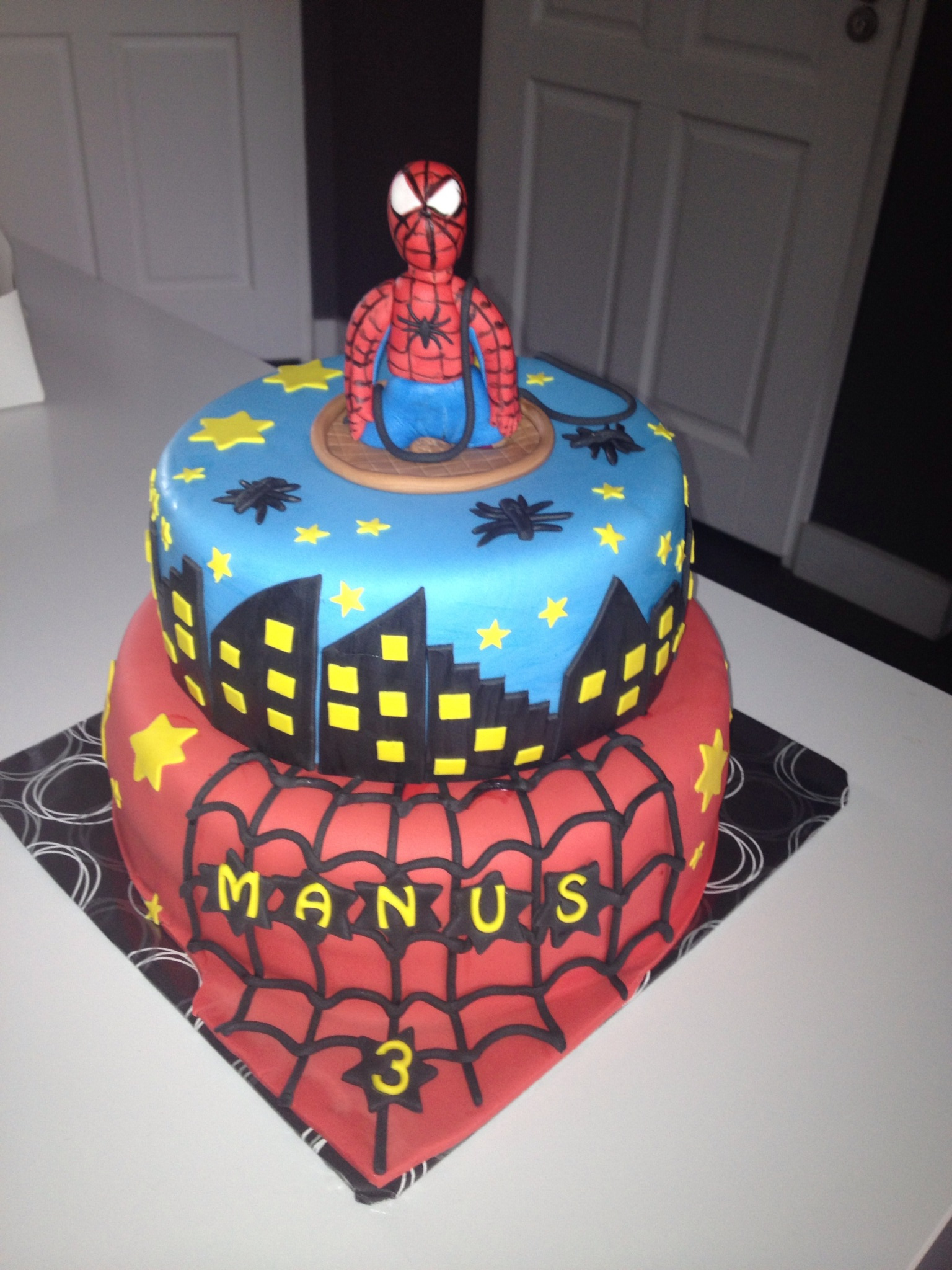 New spiderman taart - Cake Company @NB97